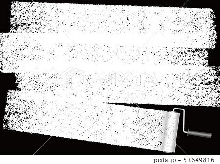 ペイントローラーで塗った背景イラスト 53649816