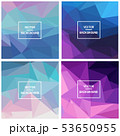 Triangle vector backgrounds 53650955