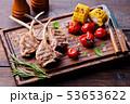 ご飯 トウモロコシ コーンの写真 53653622