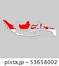 地域 地区 エリアのイラスト 53658002