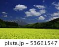 岩手山と菜の花 53661547