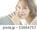 女性 ポートレート アジア人の写真 53664757