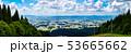 大仙市太田町 仙北平野 散居 6月 秋田県の田園風景 53665662