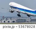離陸する飛行機 53678028