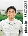 作業員 ミドル 男性の写真 53678225