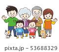 集合する家族 春 53688329