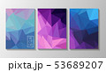 Triangle vector backgrounds 53689207