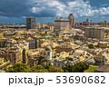 Landscape of the Beautiful Medieval Italian Genoa 53690682
