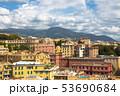 Landscape of the Beautiful Medieval Italian Genoa 53690684