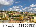 Landscape of the Beautiful Medieval Italian Genoa 53690685