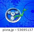日本地図と歯車 53695137