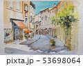 ヨーロッパの街並み 53698064