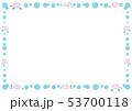 フレーム 水玉 ドットのイラスト 53700118