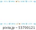 フレーム 水玉 ドットのイラスト 53700121