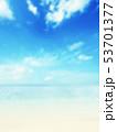 背景-夏-南国-海-空-ビーチ 53701377