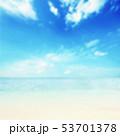 夏 南国 海のイラスト 53701378