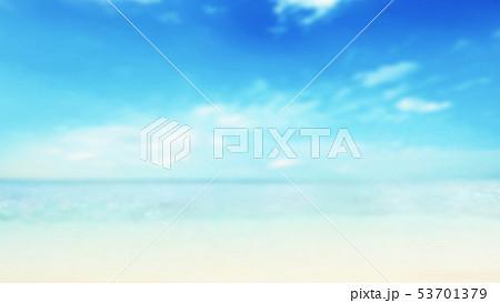 背景-夏-南国-海-空-ビーチ 53701379