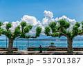 レマン湖のほとり 53701387