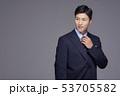ポートレート 男性 アジア人の写真 53705582