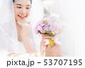 花嫁 新婦 ブライダルの写真 53707195