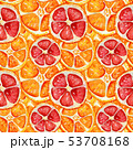 オレンジ オレンジ色 橙のイラスト 53708168