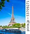 パリ エッフェル塔 風景の写真 53709271