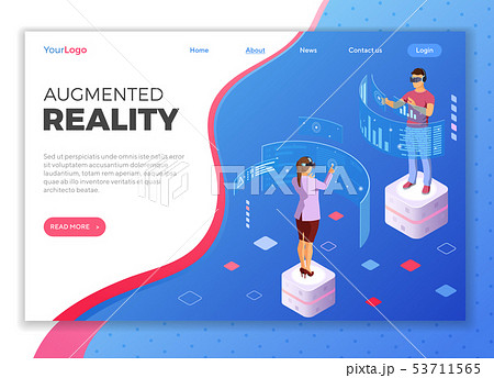 Isometric Virtual Augmented Reality 53711565