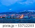 トルコ エルズルム 丘からの夜景 53712203