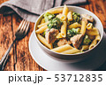 パスタ パスタ料理 ブロッコリの写真 53712835