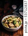 パスタ パスタ料理 ブロッコリの写真 53712837