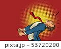panic businessman screaming 53720290