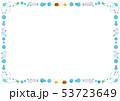 フレーム素材-水玉と梅雨の生き物テク 53723649