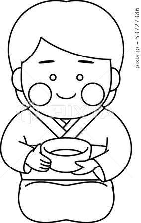 女性キャラクター茶道 53727386
