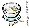筆描き 食品 アジアンスイーツ 53735539