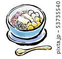 筆描き 食品 アジアンスイーツ 豆花 53735540