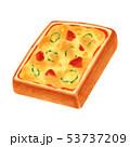 トースト ピザ 厚切り 角型 53737209