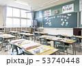 小学校 入学式の日の教室 53740448