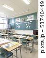 小学校 入学式の日の教室 53740449