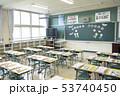 小学校 入学式の日の教室 53740450