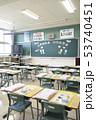 小学校 入学式の日の教室 53740451