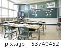 小学校 入学式の日の教室 53740452