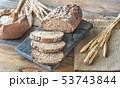 Wholegrain bread 53743844