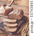 Wholegrain bread 53743845