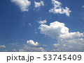 blue sky and clouds sky 53745409