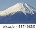 日本百名山 冬の富士山 53749835