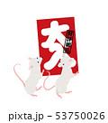 ベクター ねずみ 子のイラスト 53750026