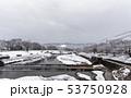 賀茂川 - 雪景色 53750928