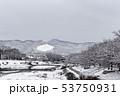 賀茂川 - 雪景色 53750931