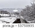 賀茂川 - 雪景色 53750935