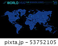 Asia, Africa, Europe, North and South America, Australia and Oceania Vector Maps 53752105